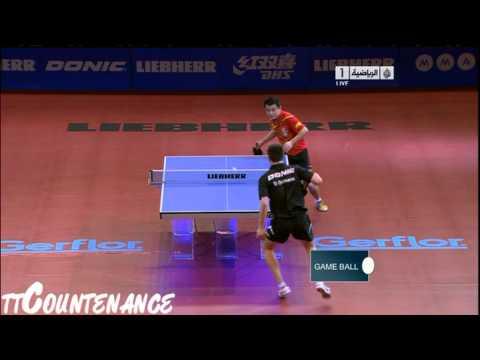 World Cup: Wang Hao-Dimitrij Ovtcharov