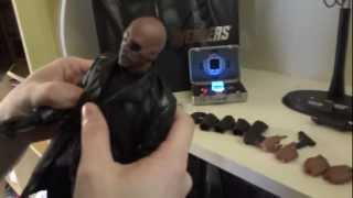 Hot Toys Nick Fury Review e Unbox BR