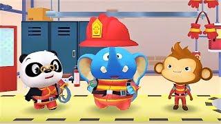 Baby Panda Firefighter - Kids Learn Emergency Rescue - Fun Educational Games