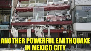 Mexico City hit by powerful Earthquake on 1985 disaster anniversary  Oneindia News