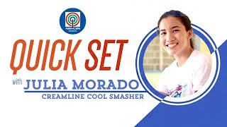 Quickset with Jia Morado | Premier Volleyball League Open Conference