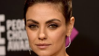 It's Finally Become Clear Why Mila Kunis Disappeared