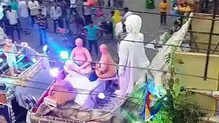 Jain samaj ki jhanki BAHUBALI GOMTESH in Anant chaturdashi procession2017