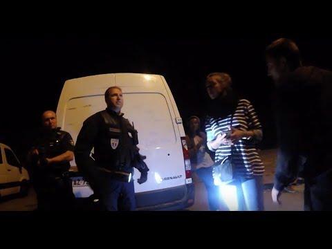 Violences policières à Calais : les images de la honte