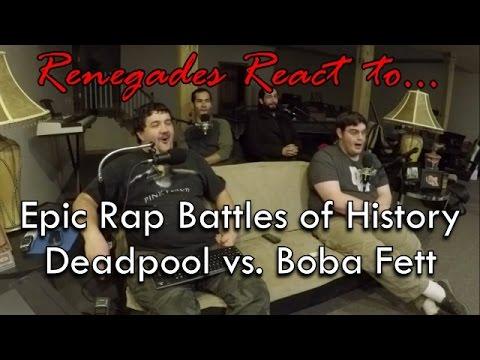 Renegades React to... Epic Rap Battles of History - Deadpool vs. Boba Fett