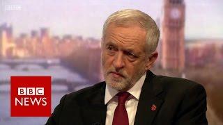 Jeremy Corbyn says Trump should