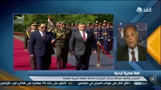 أسباب تصدر القضية الفلسطينية مباحثات الرئيسين المصري والأردني