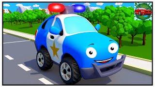 Schnelle Polizeiauto - Neue Serie über Autos - Kinderfilme 2018 für Kinder