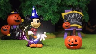 Mickey Mouse Surprise Pumpkin Disney Halloween Monster Stop Motion