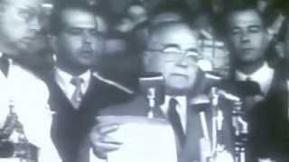 Getúlio Vargas discursa no Primeiro de Maio de 1951
