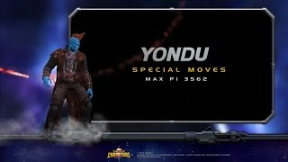 Yondu Special Moves | Marvel Contest of Champions