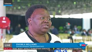 A memorial service for struggle stalwart Zola Skweyiya