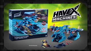Havex Machines Ultimate Battle Ship | :30 Commercial