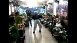 FUNNY DRUNK OLD IRANIAN DANCING IN PATTAYA BAR