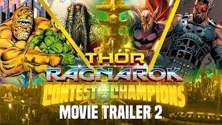 Thor Ragnarok Trailer 2: Contest of Champions Sakaar Gladiator Totem Rundown