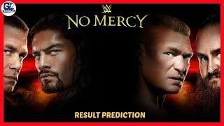 No Mercy 2017 Highlights Result Predictions