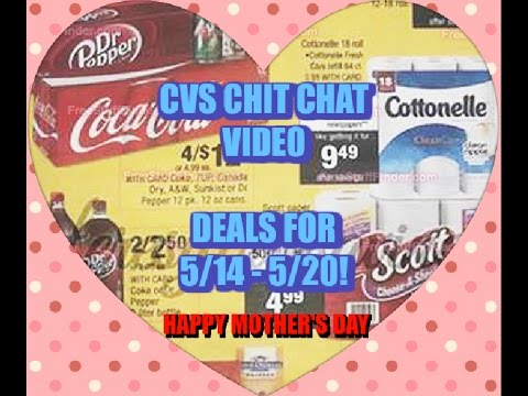 CVS Chit Chat Video for 5/14 - 5/20!  Let's Talk Deals!