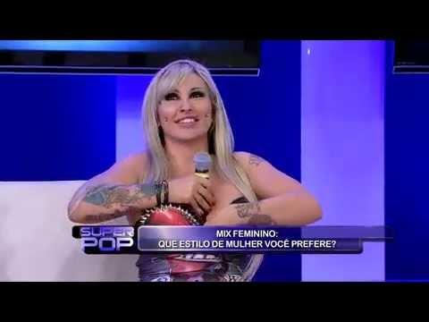 SuperPop Sabrina mostra como mantém o Boing Boing em forma