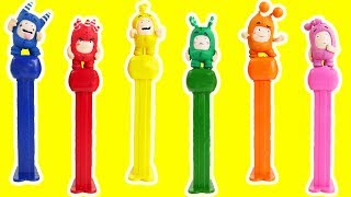 OddBods Pez Dispensers Candy