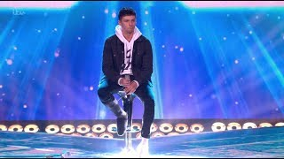 Leon Mallett: He Comes With a Broken Leg, But Proves He Deserves a Seat! The X Factor UK 2017
