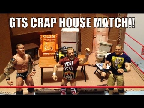 Xxx Mp4 GTS WRESTLING Hardcore House Match WWE Mattel Action Figure Matches Animation Cena Orton Bryan 3gp Sex