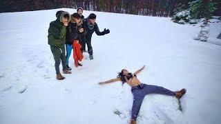 CRAZY SNOW DARES!