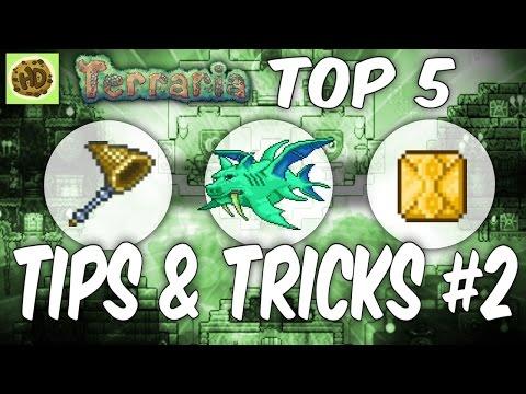 Terraria 1.3 Top Tips & Tricks #2   1.3 Tutorial   Glitch   Hack Guide