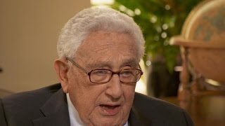 """Kissinger says Trump could go down in history as """"a very considerable president"""""""