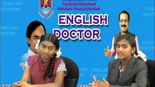 TSWREIS - 'English Doctor -IX - 2015' - Part - I - Live programme on MANA TV Dt. 19.09.2015.