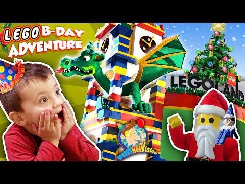 Xxx Mp4 LEGOLAND CHRISTMAS Shawn S 3rd Birthday Lego Adventure 1 FUNnel Family 3gp Sex