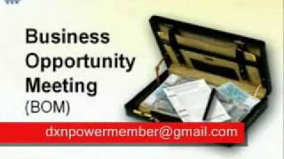 DXN online Presentation (Business Opportunity Meeting)