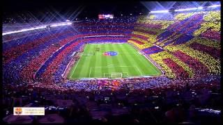 نشيد برشلونة من داخل الملعب - Fc Barcelona song Hd