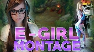 E-GIRLS MONTAGE | GIRLS CAN PLAY LEAGUE TOO?!?