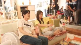 Lee Jin Wook & Ha Ji Won (1+1 Couple Hana-Won) Behind the Scene