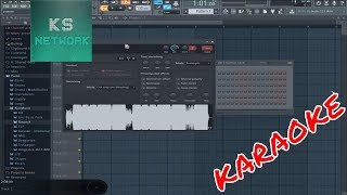 How to remove vocals from a song using Fl Studio 12 (MAKING KARAOKE) 2017