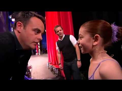 Hollie Steel la niña que sorprendió a todos Britain s Got Talent 25 04 09