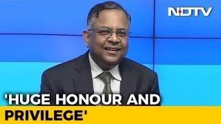 Tata Sons Chairman, N Chandrasekaran On New Responsibilities