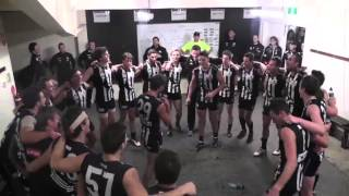 VFL: The boys sing the song