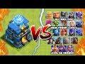 NEW MAX TROOP LEVELS vs GIGA TESLA – Clash of Clans Update! Town Hall 12 Giga Tesla vs All Troops!