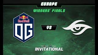 OG vs Secret Game 2 - SL-i Invitational: EU Qualifier Winners' Finals - @LysanderXonora @D2Bowie