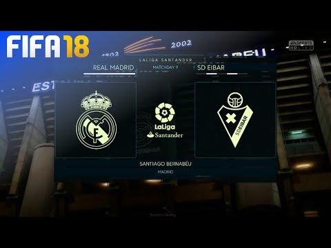 Xxx Mp4 FIFA 18 Real Madrid Vs SD Eibar Estadio Santiago Bernabéu 3gp Sex