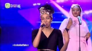 Arabs Got Talent - مرحلة تجارب الاداء - السودان– سالوت ياالبنوت