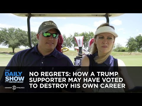Xxx Mp4 No Regrets How A Trump Supporter May Have Voted To Destroy His Own Career The Daily Show 3gp Sex