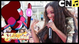Steven Universe   Stronger Than You - Estelle Performs LIVE (MUSIC VIDEO)   Cartoon Network