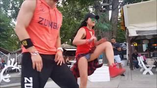 """""""Tip Pon It - Sean Paul & Major Lazer"""" - Magda Pawińska Łukasz Grabowski Zumba Fitness choreography"""