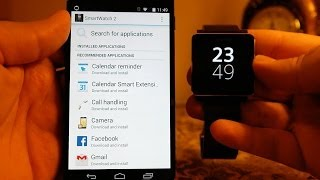 How to Pair Sony SmartWatch 2 With Your Android Phone & Install Apps on it