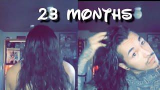"Men's Hair Growth Journey (23 Months) ""UNDERCUT"""