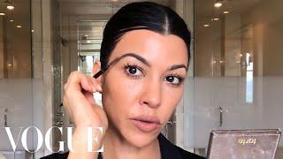 Kourtney Kardashian's Guide to Natural-ish Masking and Makeup | Beauty Secrets | Vogue