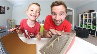 Dad & Son Fingerboarding Time!