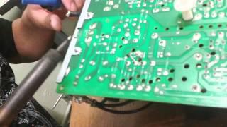 Como soldar un componente electronico